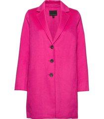 unlined double-faced topcoat wollen jas lange jas roze banana republic