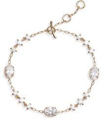 women's nadri issa cubic zirconia bracelet