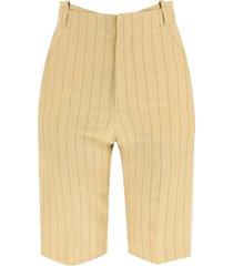 jacquemus le short gardian linen shorts