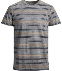 jack & jones plus size t-shirt ronde hals grijs
