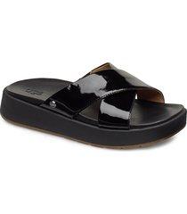 w emily shoes summer shoes flat sandals svart ugg