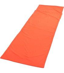 ey saco de dormir camisa de dormir saco de viaje, senderismo, campamentos de hoja tienda mat pad-naranja