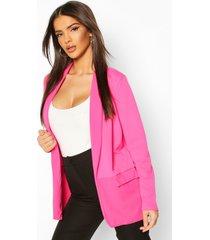 tailored blazer, hot pink