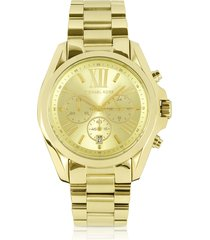 michael kors designer women's watches, mid-size bradshaw chronograph watch