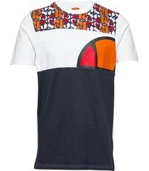 el cirillo tee t-shirts short-sleeved blå ellesse