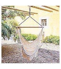 cotton hammock swing, 'montelimar sands' (nicaragua)