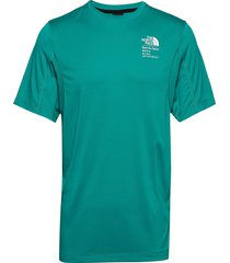 m glacier s/s tee t-shirts short-sleeved grön the north face