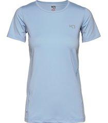 nora tee t-shirts & tops short-sleeved blå kari traa