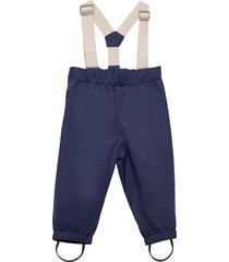 wilans suspenders pants, bm outerwear shell clothing shell pants blå mini a ture