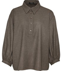 opus geruite blouse feilchen