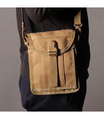 borsa a tracolla multifunzionale all'aperto impermeabile della borsa a tracolla della borsa impermeabile di nylon per gli uomini