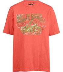 t-shirt men plus korall