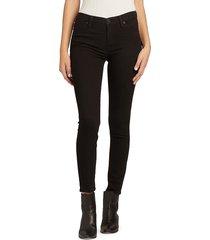 hudson women's mid-rise skinny ankle jeans - warwick - size 27 (4)