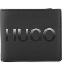 boss hugo boss men's gradient wallet - black