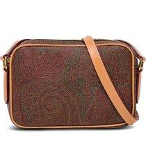 etro crossbody bag in paisley leather