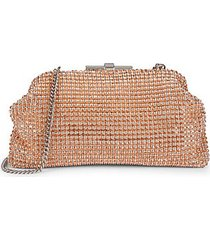 adaline crystal bead clutch