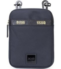 boss men's pixel g nylon neck pouch