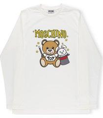 moschino teddy bear sweater