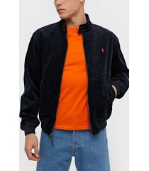 polo ralph lauren baracuda lined jacket jackor navy