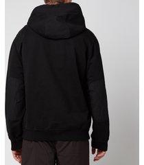 tom wood men's pullover hoodie - pitch black - xl