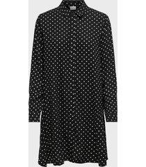 vestido jacqueline de yong negro - calce regular