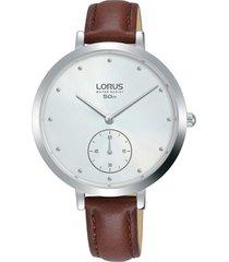 reloj café mujer lorus