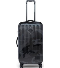 men's herschel supply co. trade 29-inch medium wheeled packing case - black