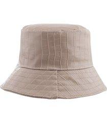 sombrero beige bohemia cuerina
