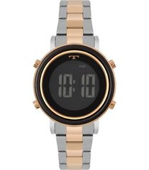 relógio technos trend bicolor feminino