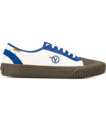 vans x taka hayashi one piece low-top sneakers - blue