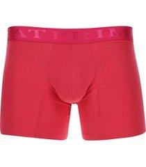 bóxer unicolor color rosado, talla m