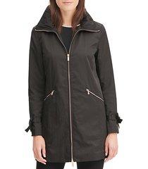 packable a-line rain jacket