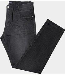 calça jeans preston plus size cintura alta masculina