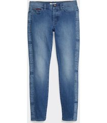 tommy hilfiger women's adaptive signature curve jegging light wash/ multi - 8