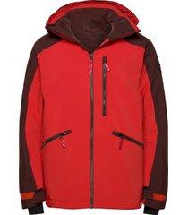pm diabase jacket outerwear sport jackets röd o'neill
