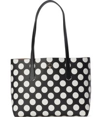 kate spade new york molly bikini dot small tote