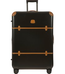 bric's bellagio 2.0 32-inch rolling spinner suitcase - green