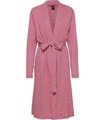 ladies dressing gown, mukava morgonrock röd nanso