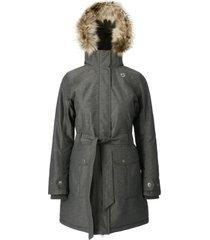abrigo mujer new abbie gris doite
