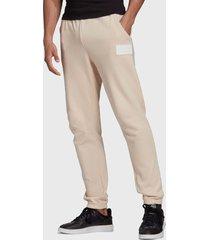 pantalón de buzo adidas originals silicon swpant rosa - calce regular