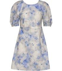 adalane korte jurk blauw baum und pferdgarten