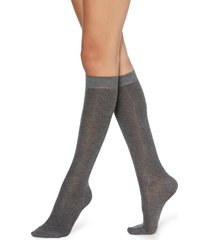 calzedonia glitter hold-ups with cashmere woman green size tu