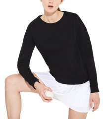 lacoste long sleeve double face big croc sweatshirt