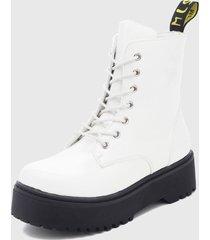 botín blanco bonnyfranco