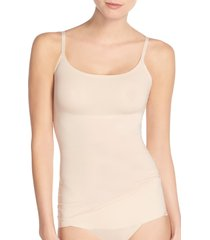 women's spanx thinstincts convertible camisole, size x-large - beige