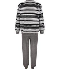 pyjamas roger kent 1 svart/grå/vit