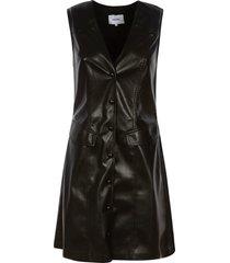 nanushka sleeveless mid-length dress