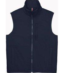 tommy hilfiger men's essential lightweight vest sky captain - s