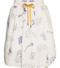 samirah kort kjol vit baum und pferdgarten