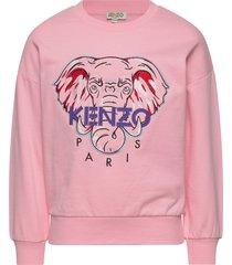 kaylista sweat-shirt trui roze kenzo